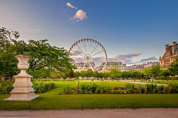 Jardins des tuileries  Fototapete