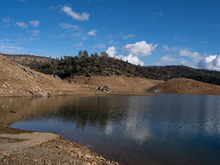 Low Water at Lime Saddle Marina, Lake Oroville, California