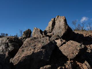 Rocks in the sun