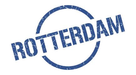 Photo sur Aluminium Rotterdam Rotterdam stamp. Rotterdam grunge round isolated sign