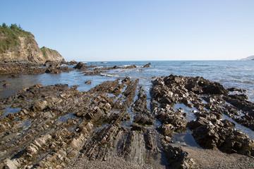 Horizon at Cambaredo Beach; Asturias