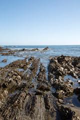 Rocks on Cambaredo Beach; Asturias