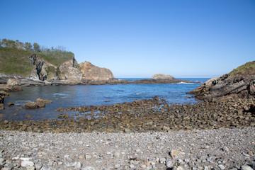 Coastline at Pormenande Beach; Asturias