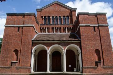 Facade of the Royal Memorial Chapel, Sandhurst