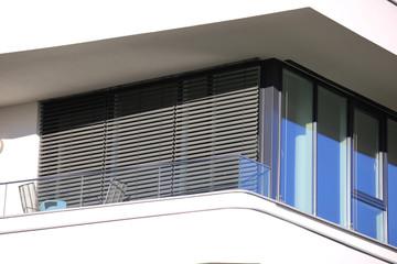 Window with modern blind Fotomurales