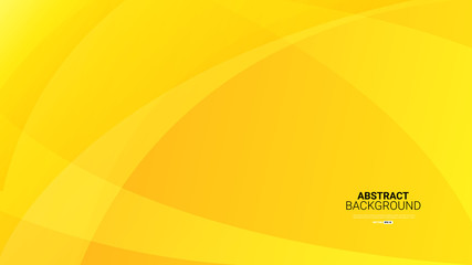 Dynamic textured yellow abstract background vector illustration Fototapete