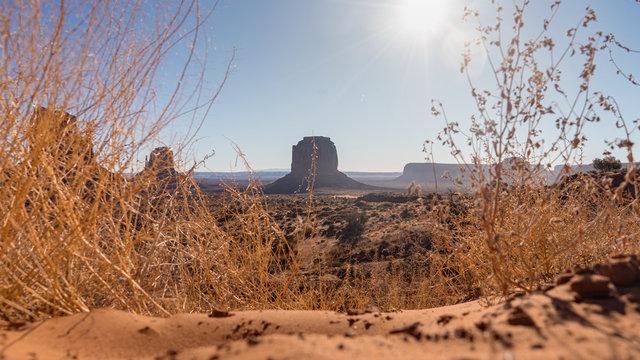 Ausflugsziel für Touristen im südwesten der USA