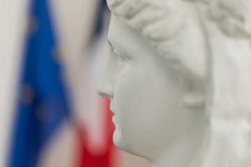Marianne de profil Fototapete