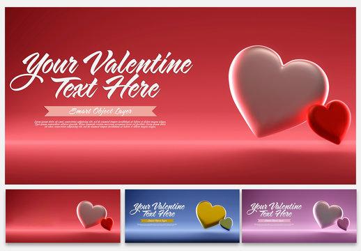 Valentine's Day Graphic Mockup
