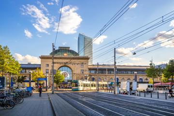 Hauptbahnhof, Mannheim, Deutschland Fototapete