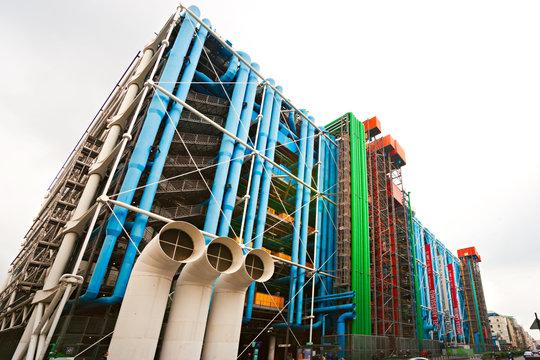 Paris, France - December 13, 2014: The Pompidou cultural center in Paris, France