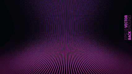 Abstract Purple Stripes Background