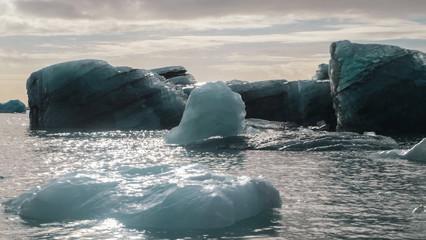 Papiers peints Bleu vert Islande