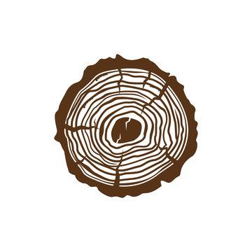 Wood grain Logo