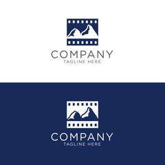 Mountain picture film company logo