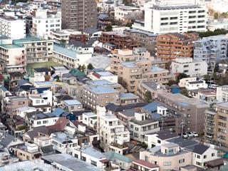 Fototapete - 都心の住宅街