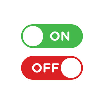 Switch on off button icon