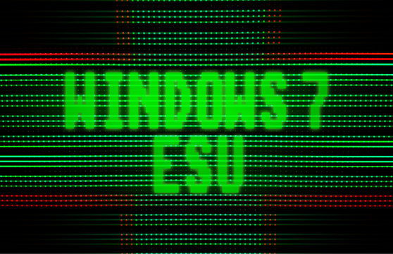 NORWAY, OSLO, January 11, 2020: Windows 7 End of Life