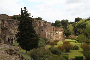 Pompeii Ruins, Naples, Italy