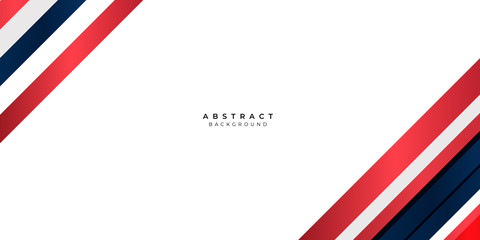 White Red Silver Gradient Blue Box Rectangle Abstract Background Vector Presentation Design