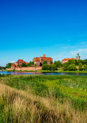 Castle of the Teutonic Order in Malbork, Pomeranian Voivodeship, Poland