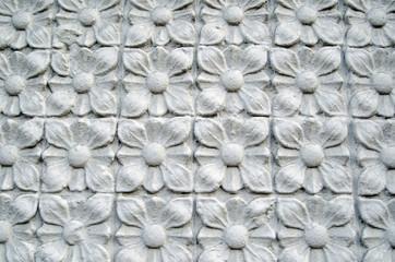 Geometric floral design