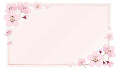 桜 フレーム さくら