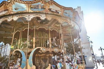 Carousel And Balloon Stockfotos und -bilder Kaufen - Alamy