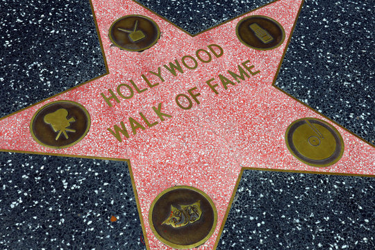 Star of Hollywood Walk of Fame,  Hollywood Boulevard - Hollywood (California)