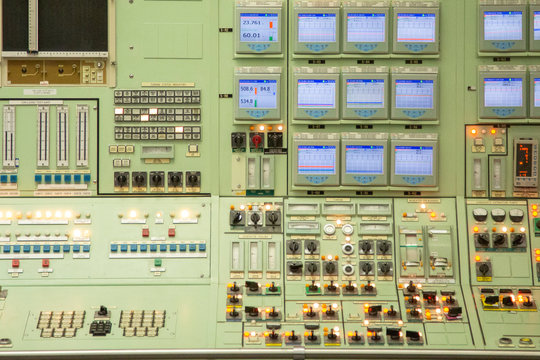 The control room at the Pickering Nuclear Power Generating Station near Toronto