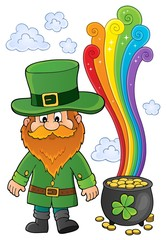 Photo sur Aluminium Enfants St Patricks Day theme image 6