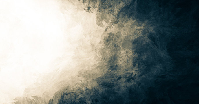 Abstract paint background with dark grey grunge texture. white copy space for text.