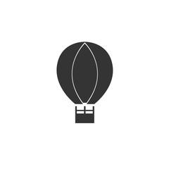 hot air balloon icon vector symbol eps 10
