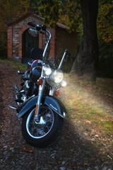 Moto Hd Con Luci Accese