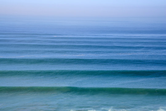 Long Period Swell Approaching Morocco Coastline