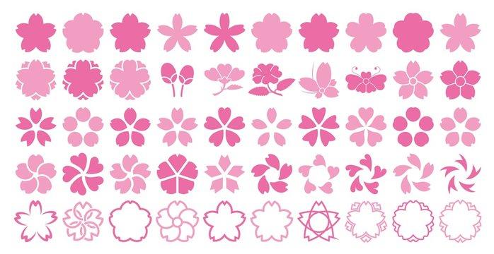 桜 シルエット
