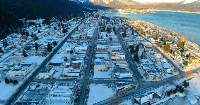 Winter views of Resurrection Bay, Alaska
