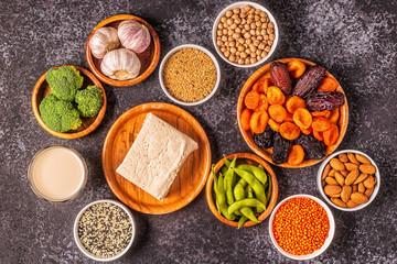 Estrogen-Rich Foods, Menopause Diet.