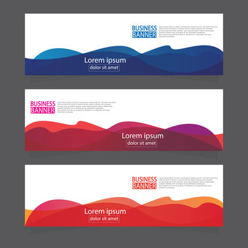 Banner background.modern template design.Vector illustration.