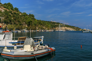 Harbour of Gaios - Paxos and Antipaxos islands, Greece
