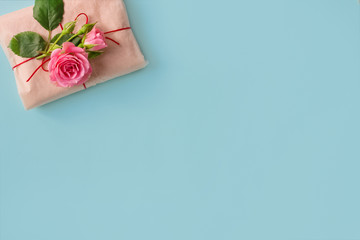 Happy Women's day.Mother's day.Valentine's day banner postcard or poster for sale in the store.8 March. horizontally.top view.copy space