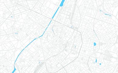 Brussels, Belgium bright vector map