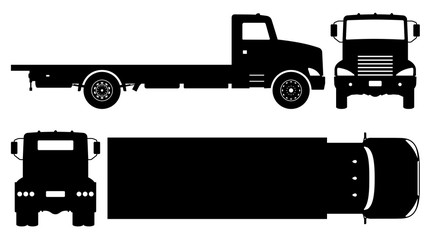Flatbed Truck Icon Stock Photos And Royalty Free Images Vectors And Illustrations Adobe Stock
