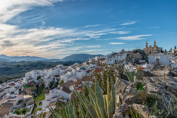 Olvera - Nice old town in Andalucia Spain