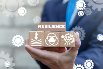 Resilience Business Concept. Resilient Education Success.