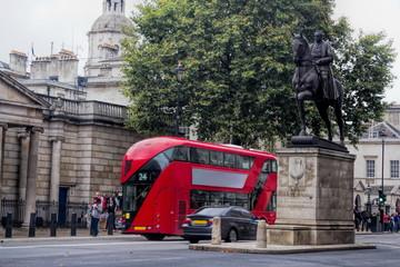 Foto op Aluminium Londen rode bus London Earl Haig