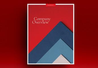Company Brochure Layout