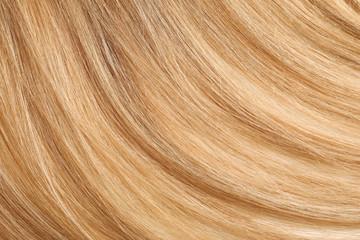 Healthy long female hair, closeup Fototapete