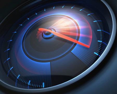 Speedometer, illustration