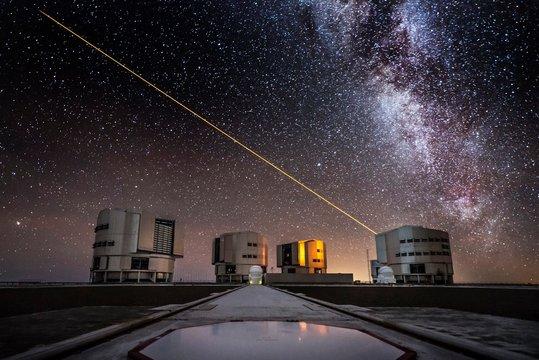UT4 telescope